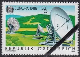 Specimen, Austria Sc1429 Europa, Communication And Transportation - 1988