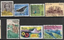Ceylon   1964   7 Diff  Used   2016 Scott Value $3.80 - Sri Lanka (Ceylon) (1948-...)