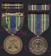 Korea Defense Service Full Size Medal - Médailles & Décorations