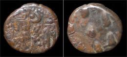 Elymais Kingdom Kamnaskires-Orodes AE Drachm - Greek