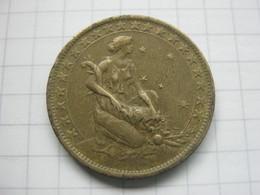 Brasil , 1000 Reis 1925 - Brésil