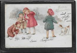 AK 0497  Fröhliche Weihnachten Um 1900 - Noël
