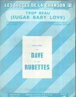 """""""Trop Beau"""" 'Sugar Baby Love) Interprétée Par Dave Et Les Rubettes - Paroles Françaises Patrick Loiseau - Musik & Instrumente"""