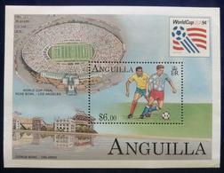 134A. ANGUILLA 1994 STAMP M/S WORLD CUP FOOTBALL . MNH - Anguilla (1968-...)