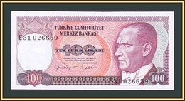 Turkey 100 Lire 1984-1989 P-194 (194b) UNC - Turkey