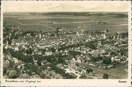 AK Mindelheim Vom Flugzeug Aus (5-193) - Mindelheim