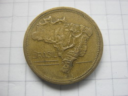 Brasil , 1 Cruzeiro 1944 - Brésil