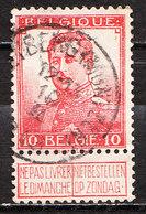 111  Pellens - Bonne Valeur - Oblit. Centrale BLEYBERG(MONTZEN)  - LOOK!!!! - 1912 Pellens