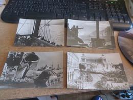 Lot De 8 Cartes Postales ,de TUNIS à SIENNE Dont 2 Divers Scans Recto Et Verso - Guerre 1939-45