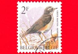 BELGIO - Usato - 1996 - Uccelli Di Buzin - Tordo Sassello - Turdus Iliacus - 2 - 1985-.. Vogels (Buzin)