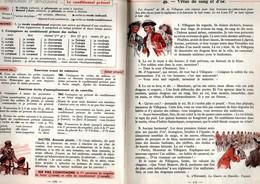 Le Livre Unique De Français Cours Moyen Et Supérieur Classiques Hachette De 1957 - Books, Magazines, Comics