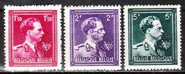 724N/P**  Leopold III Col Ouvert Surchargé -10% - LIEGE 4 - Série Complète - MNH** - LOOK!!!! - 1946 -10%