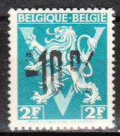 724H**  Lion Héraldique Surchargé -10% - LA LOUVIERE - MNH** - LOOK!!!! - 1946 -10%