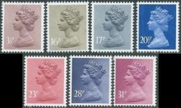 1983 GRAN BRETAGNA EFFIGIE REGINA ELISABETTA II 7 VALORI MNH ** - RC50-5 - 1952-.... (Elisabetta II)