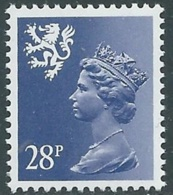 1983 GRAN BRETAGNA EMBLEMI REGIONALI SCOZIA 28p MNH ** - RC40 - 1952-.... (Elisabetta II)