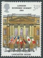 1984 GRAN BRETAGNA SUMMIT ECONOMICO A LONDRA MNH ** - RC47-9 - 1952-.... (Elisabetta II)