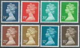 1988 GRAN BRETAGNA EFFIGIE REGINA ELISABETTA II 8 VALORI MNH ** - RC43-7 - 1952-.... (Elisabetta II)