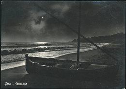 GELA - NOTTURNO 1955 - Gela