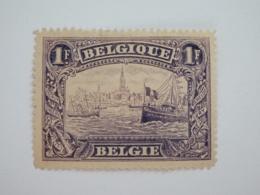 Sevios / Belgie / **, *, (*) Or Used - 1915-1920 Albert I