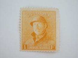 Sevios / Belgie / **, *, (*) Or Used - 1919-1920 Albert Met Helm