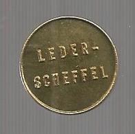 Jeton ,LEDER-SCHEFFEL , Ich Bringe Glück , 2 Scans - Professionals / Firms