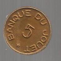 Jeton , Banque Du Jouet , 5 , Di William Shakespeare , GIULIO CESARE , 2 Scans - Professionals / Firms