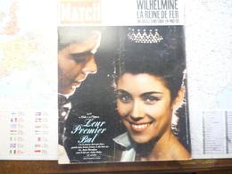 Paris Match N°713 8 Décembre 1962 Le Bal Des Débutantes à L'Opéra / Wilhelmine La Reine De Fer - General Issues