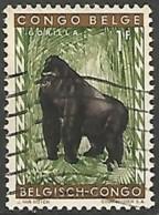 CONGO BELGE N° 354 OBLITERE - Congo Belge