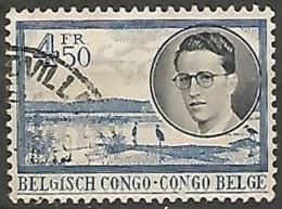 CONGO BELGE N° 331 OBLITERE - Congo Belge