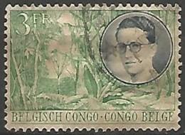 CONGO BELGE N° 330 OBLITERE - Congo Belge