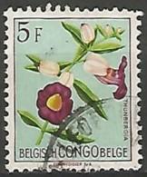 CONGO BELGE N° 316 OBLITERE - Congo Belge