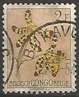 CONGO BELGE N° 313 OBLITERE - Congo Belge