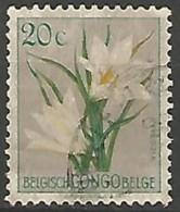 CONGO BELGE N° 304 OBLITERE - Congo Belge