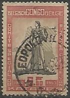 CONGO BELGE N° 299 OBLITERE - Congo Belge