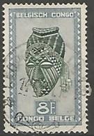CONGO BELGE N° 291B OBLITERE - Congo Belge