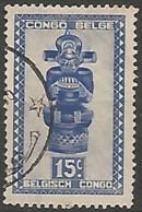 CONGO BELGE N° 278 OBLITERE - Congo Belge