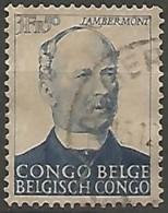 CONGO BELGE N° 275 OBLITERE - Congo Belge