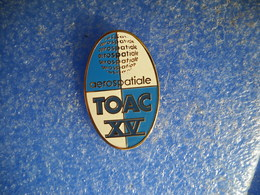 958     PINS Pin's  AEROSPATIALE TOAC   RUGBY  XV  31 - Rugby