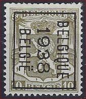KLEIN STAATSWAPEN Nr. 420 België Typografische Voorafstempeling Nr. 332 B  BELGIQUE  1938  BELGIE  ! - Precancels