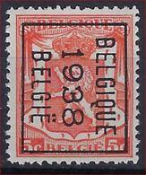 KLEIN STAATSWAPEN Nr. 419 België Typografische Voorafstempeling Nr. 331 B  BELGIQUE  1938  BELGIE  ! - Precancels