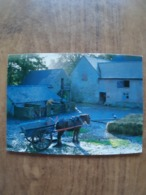 52055: POSTCARD: SHROPSHIRE: Acton Scott Working Farm Museum, Nr. Church Stretton. Pigsties, Grannary & Cowshed - Fermes