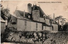 Chaudefonds 49 - 1911 - Château De L'Orchère - - Autres Communes