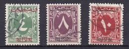 P067 – PALESTINE – EGYPTIAN OCCUPATION – POSTAGE DUE – 1948 – USED LOT 5,40 € - Palästina