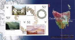 Australia:2004 TASMANIA 1804-2004 MS ~ LE SALON DU TIMBRE 2004 PARIS - VFMNH - 2000-09 Elizabeth II