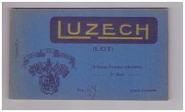 46 Luzech Carnet Complter 12 Cartes Postales Détachables Carte Postale - Luzech