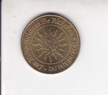 Jeton Médaille Monnaie De Paris MDP Le Puy Du Fou Les Mousquetaires De Richelieu  2006 - Monnaie De Paris
