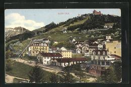 AK Glion-Caux, Teilansicht Mit Bahnhof - VD Vaud
