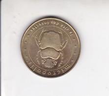 Jeton Médaille Monnaie De Paris MDP Micropolis La Cité Des Insectes 2000 - Monnaie De Paris