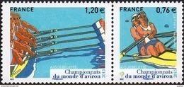 France N° 4973 - 4974 ** Aiguebelette - Championnats Du Monde D'aviron - Neufs
