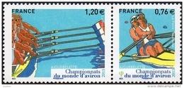 France Sport N° 4973 - 4974 ** Aiguebelette - Championnats Du Monde D'aviron - Canottaggio